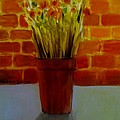 Potted Flowers by Phebe Smith