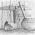 Potting Shed by Jim Hubbard