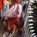 Pow Wow Dancer by Vivian Christopher