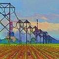 Power Plant Photo Art by Debbie Portwood