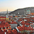 Prague - A Story Told By Rooftops by Christine Till