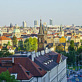 Prague And St Charles Bridge by Jon Berghoff