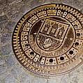 Prague Manhole Cover by Jon Berghoff