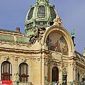 Prague Obecni Dum - Municipal House by Christine Till