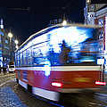 Prague Tram by Stelios Kleanthous