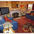 Prairie House Interior by Charles Stuart
