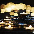 Prayer Candles by Beth Riser