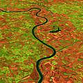 Pre-flood Missouri River by Nasagoddard Space Flight Center