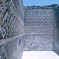 Prehistoric Ruins Of Mitla by Photo Researchers, Inc.
