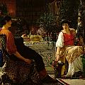 Preparations For The Festivities by Sir Lawrence Alma-Tadema