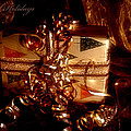 Present Holiday Card by Beverly Cash