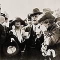 President And Mrs. Harding Entertain by Everett