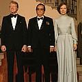 President And Rosalynn Carter by Everett