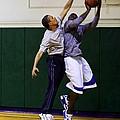 President Barack Obama Blocks A Shot by Everett