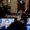 President Barack Obama Conducting by Everett