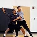 President Barack Obama Guards by Everett