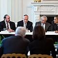 President Barack Obama Meets by Everett