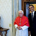 President Barack Obama Meets With Pope by Everett