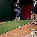 President Barack Obama Practices by Everett
