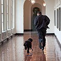 President Barack Obama Runs by Everett