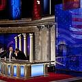 President Barack Obama Tapes An by Everett
