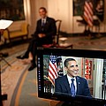President Barack Obama Tapes The Weekly by Everett