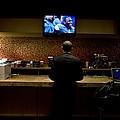 President Barack Obama Watches by Everett