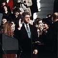 President Bill Clinton Takes The Oath by Everett