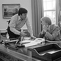 President Carter And His Chief Of Staff by Everett