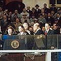 President-elect George W. Bush Is Sworn by Everett