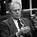 President Ford During A National by Everett