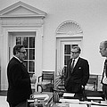 President Ford With Sec. Of State Henry by Everett
