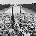 President Harry S. Truman Between Flags by Everett