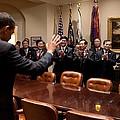 President Obama Bids Farewell by Everett
