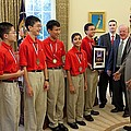 President Obama Greets Mathcounts by Everett