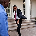 President Obama Practices by Everett