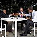 President Obama Professor Henry Louis by Everett