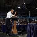 President Obama Promotes Health Care by Everett