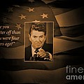 President Reagan by Tommy Anderson