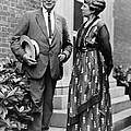 President Warren Harding With First by Everett