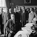 President William H. Taft At His Desk by Everett