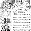 Presidents Hymn, 1863 by Granger