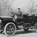 Presidents Tafts,white Touring Car That by Everett