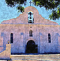 Presido Chapel San Elizario Texas by Kurt Van Wagner