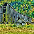 Prest Road Barn Hdr by Randy Harris