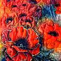 Pretty Poppies by Rayne Van Sing