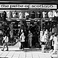 Pride Of Scotland Scottish Gifts Shop Princes Street Edinburgh Scotland Uk United Kingdom by Joe Fox