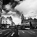 Princes Street Edinburgh Scotland by Joe Fox