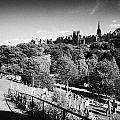Princes Street Gardens Edinburgh Scotland Uk United Kingdom by Joe Fox