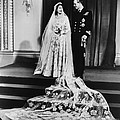 Princess Elizabeth And Prince Philip by Everett